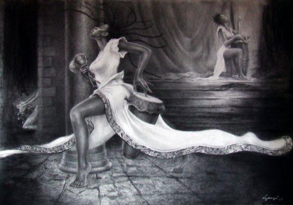 danse lavi ak richès konkèt pwòp tèt nou sou fòs revolisyon mouvman ak konsyans   | Turenne / Tilarenn | Zèv atis Reginald Nazaire (NAZAREGI)