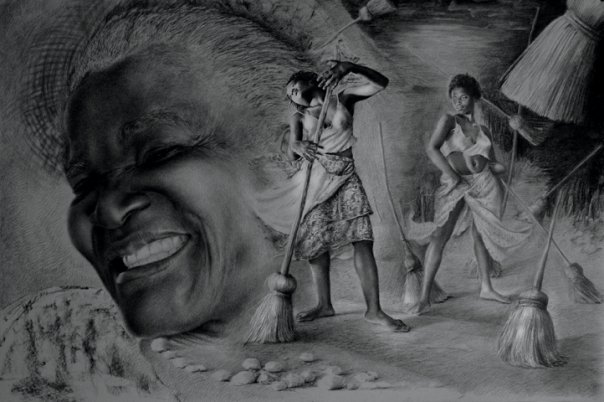 Mwen renmen danse paske... | Zèv atis Reginald Nazaire / NAZAREGI