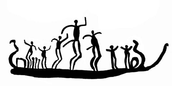 danse grave nan wòch | Trättelanda, Bohuslän nan Lwès Laswèd