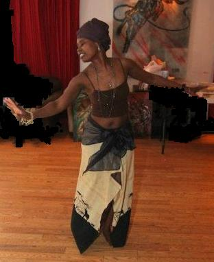 Turenne Joseph, Conscious movement activism art in action at Majoha Benefit Evening for Children, 2010