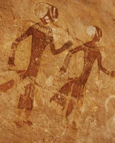 Aprann danse fasil epi natirèl depi tout tan | penti akeyolojik, Sahara dinò nan AKHN online
