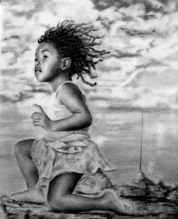 Une quête de soi à fleur de peau pour mieux vibrer de mon essence intemporelle, telle est ma danse | Turenne / Tilarenn | Dessin danse de l'artiste Reginald Nazaire / NAZAREGI
