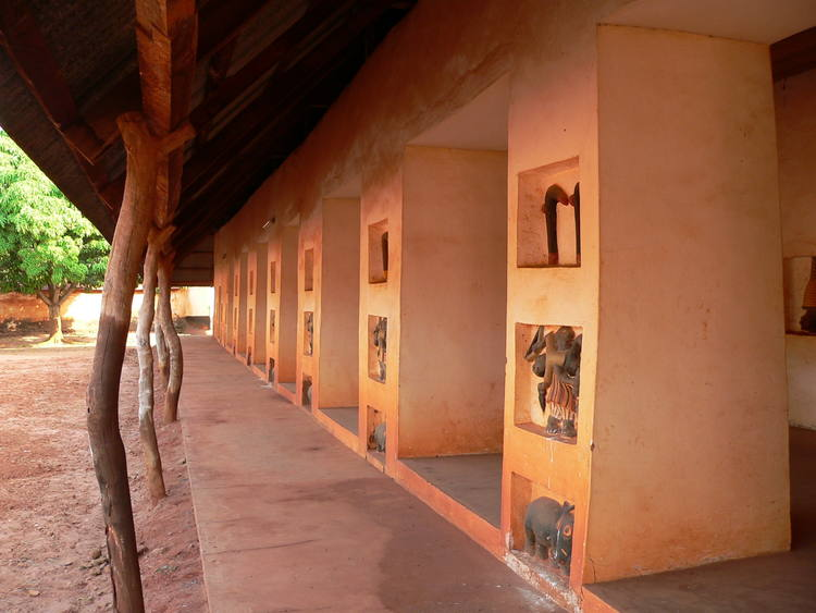 Sacred circles memory reminder | Royal Palaces of Abomey, Benin