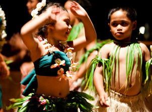 Dances, rhythms, and culture | Learn dance simply | Cook Island Kids in a dance festival
