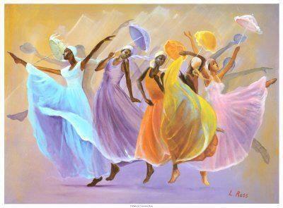 Atizay danse ki divètisman sou kadans atis pwofesyonèl nan konpayi Alvin Ailey American Dance Theater