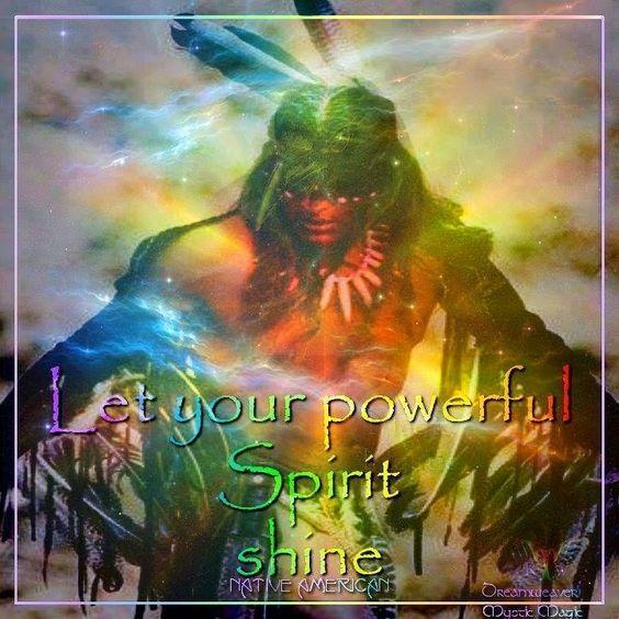Powerful Spirit: indigenous culture quotes / Dreamweaver Mystic Magic