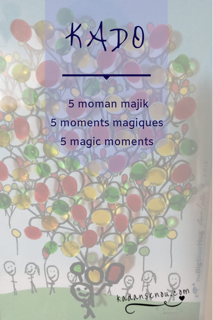 ° Resevwa kado 5 moman majik pawòl kadanse nou | ° Reçois en cadeau, 5 moments magiques en citations de danses | ° Get a gift of 5 magic moments dance quotes / zèv TheBigBlueHug: