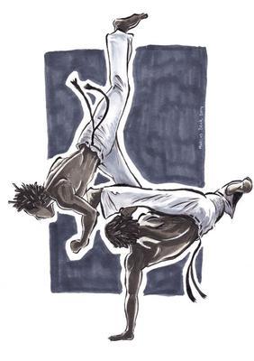 <i>Capoeira, marcus beck</i>
