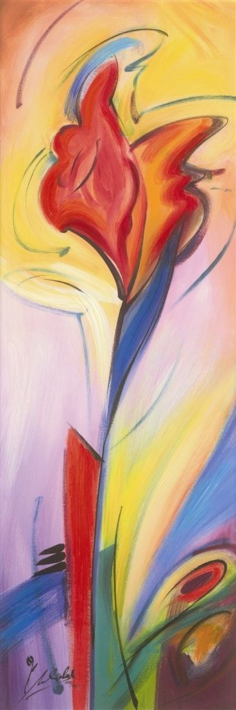 iheart dance for its beautiful power | Iris of color artwork by Alfred Alexander Gockel