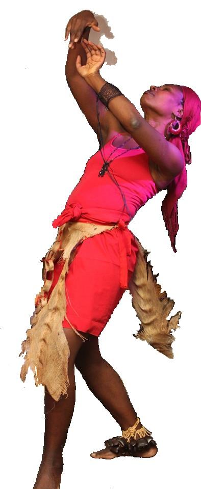 Je danse au rythme du tambour et d'une voix poétique la grandeur et la richesse d'être femme | Photo : Wesley Rigaud, 2013 | Turenne Joseph / Tilarenn