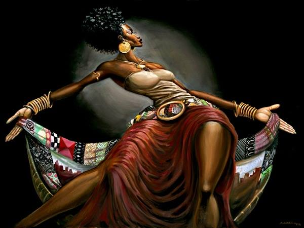 Physical healing brings emotional wellbeing. Dances, sacred soul rhythms, are classes apart from all other physical activities | Artwork by Frank Morrison