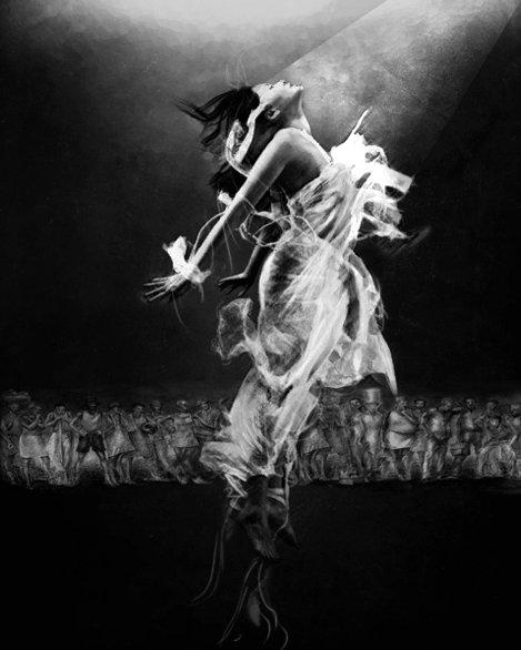 I thrive to dance life in vibrant mindful presence to self-conquest through joyful conscious movement | Turenne / Tilarenn | Zèv atis Reginald Nazaire / NAZAREGI