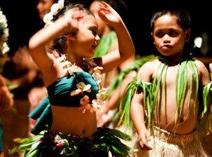 Dances, rhythms, and culture   Learn dance simply   Cook Island Kids in a dance festival